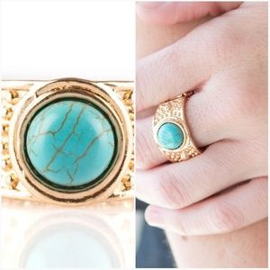 SUMMER OASIS TURQUOISE RING